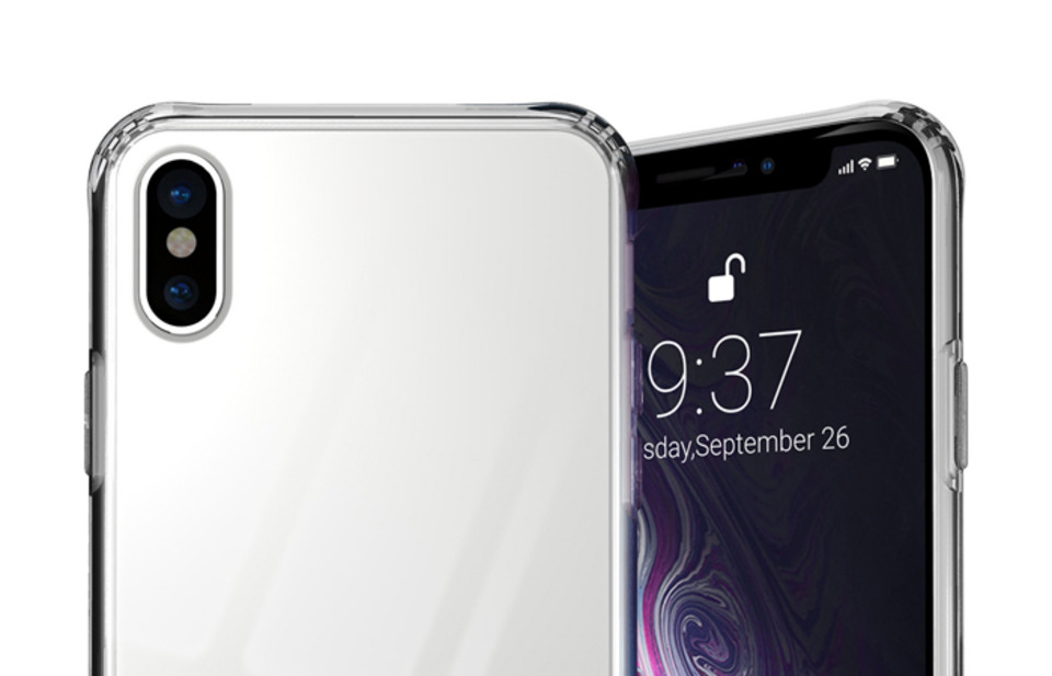 INO TEMPERED GLASS iPhone X/XS Case